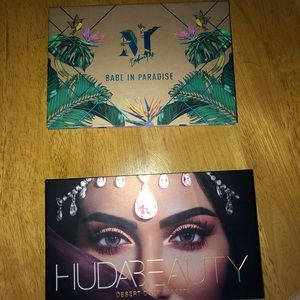 Huda and Bretman morphe palette